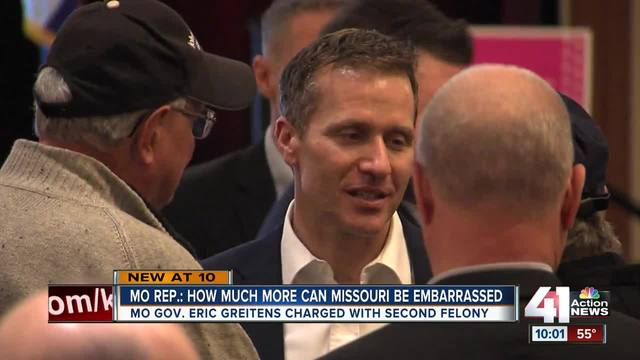 Louis prosecutor files additional charge against Gov. Greitens