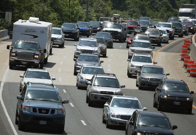 I-15 lane reductions happening near Primm