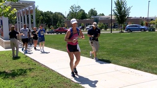 Mom celebrates 40th birthday by running 40 miles