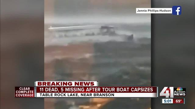 Video shows moments before fatal boat incident on Table Rock Lake