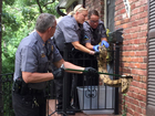 Kansas police wrangle massive boa constrictor
