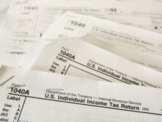 tax forms getty