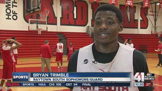raytown south high school. bryan trimble of raytown south earns hyvee athlete the week - kshb.com 41 action news high school i