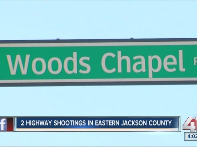 2 highway shootings in eastern Jackson County