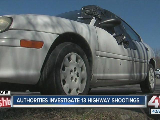 Authorities investigate 13 highway shootings