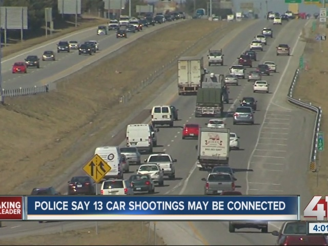 Police say 13 highway shootings may be connected