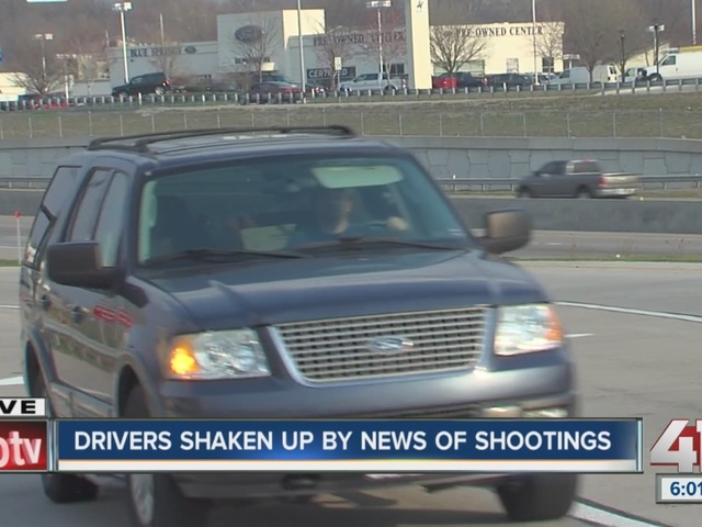 String of highway shootings at cars around metro