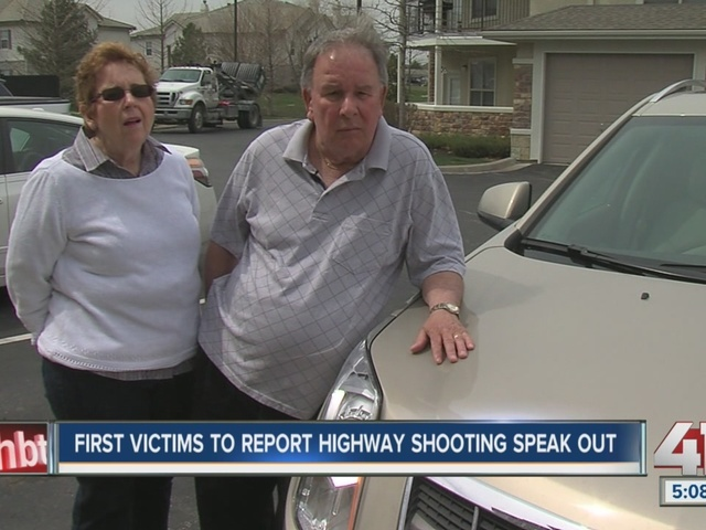 First victims to report highway shooting speak out