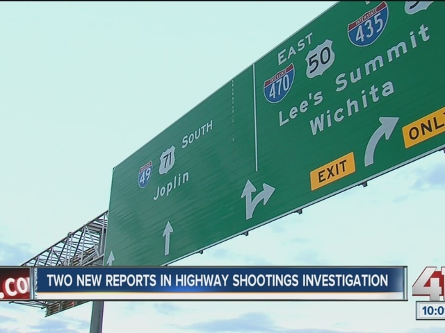 Two new reports in highway shootings investigation