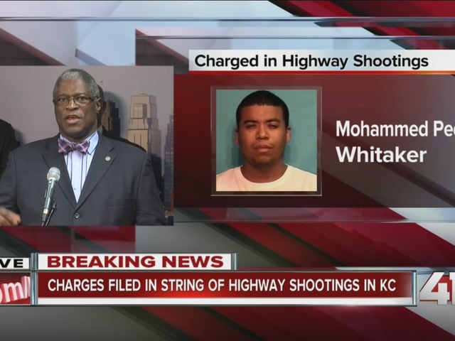 Charges filed in highway shootings case - Pt 2