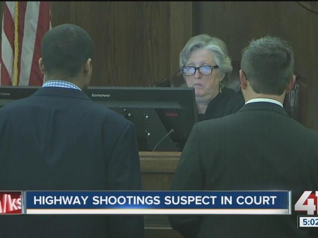 Highway shooting suspect in court