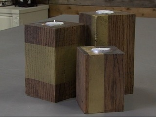 Turn wood scraps into decor accents