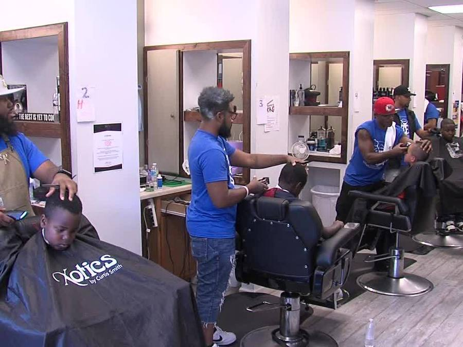 Kansas City Kids Get Free Back To School Haircut Kshb 41