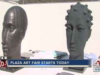 87th annual Plaza Art Fair set for this weekend