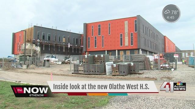 Inside Olathe S New High School Kshb Com 41 Action News
