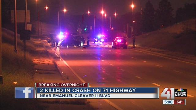 Two People Were Killed In Car Crash On Highway 71 KCMO Early Wednesday Morning