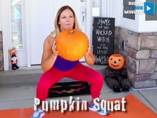 VIDEO: Pump pumpkins instead of iron