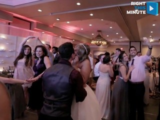 VIDEO: Wedding nails the mannequin challenge