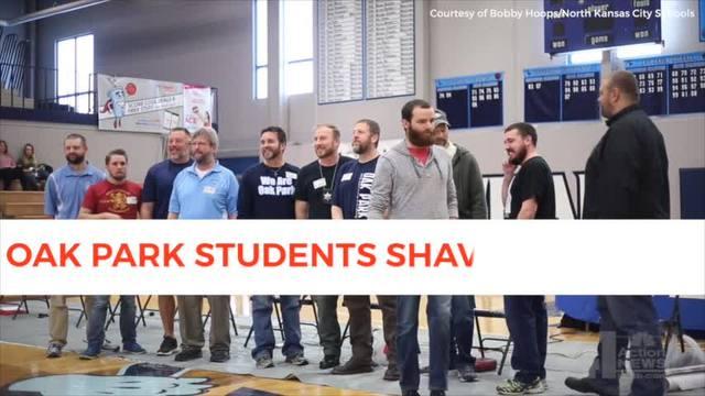 Oak Park High School students shave teachers\' beards for a good ...