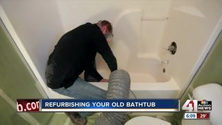 Angie's List: refurbishing your old bathtub