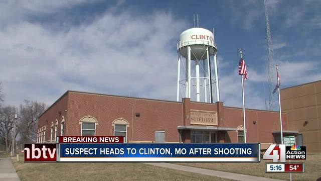 suspect in deadly olathe shooting arrested in clinton  missouri