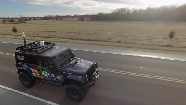Stormtracker drone raw video