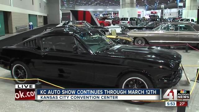 Inside The KC Auto Show At Bartle Hall KSHBcom Action News - Car show kc