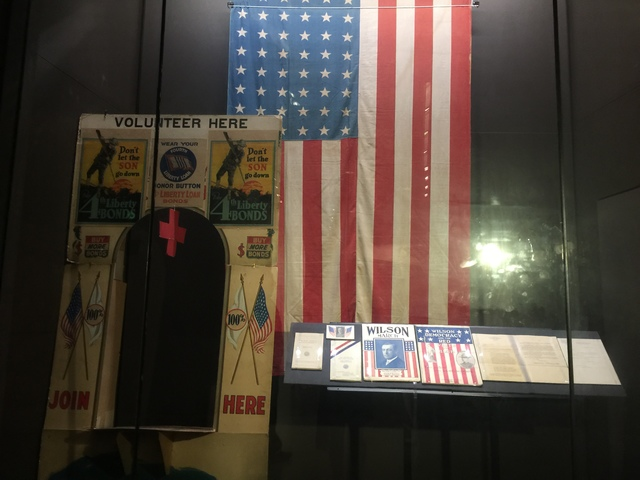 American flag from 1917