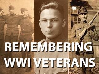 PHOTOS: Families share memories WWI veterans