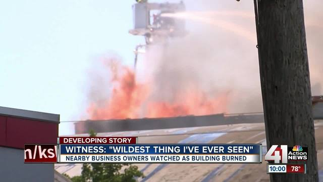 A Three Alarm Fire Engulfed A Furniture Store On Southwest Boulevard Near  Downtown Kansas City Tuesday.
