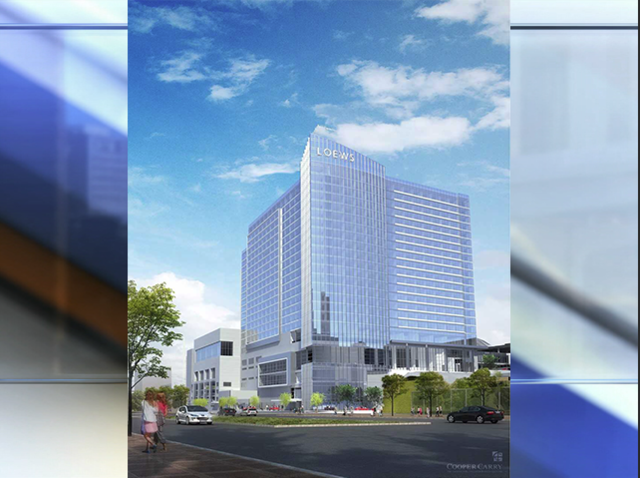 Renderings Of The Convention Hotel In Downtown Kc