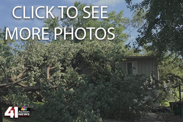 Storm damage photos