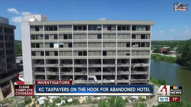 Kansas City Taxpayers On The Hook For Tearing Down Abandoned Hotel
