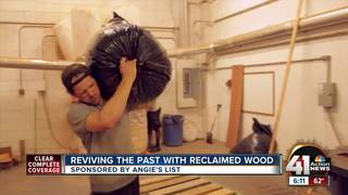 Reviving the past with reclaimed wood