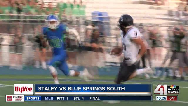 Hy-Vee Big Game Matchup- Staley beats Blue Springs South