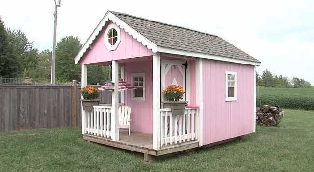Beautiful Copyright 2017 Scripps Media, Inc. All Rights Reserved. This Material May  Not Be Published, Broadcast, Rewritten, Or Redistributed. A Pink Playhouse  ...