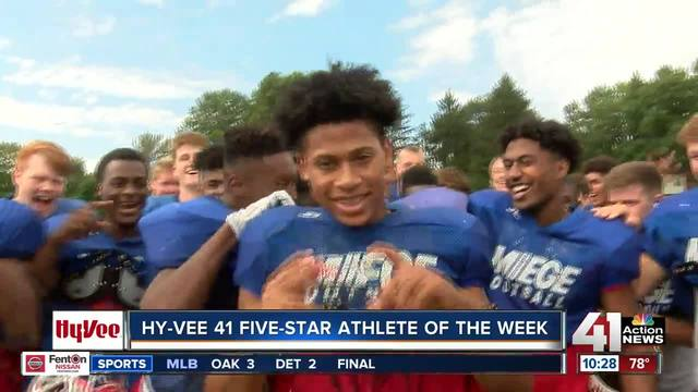 Daniel Jackson is the Athlete of the Week