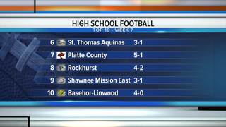 Mick's weekly high school football ranking