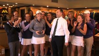 Sion freshman golfer Megan Propeck excels
