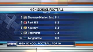Top 10 HS football teams in KC: October 27
