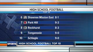 Playoff edition: Top 10 HS football teams in KC