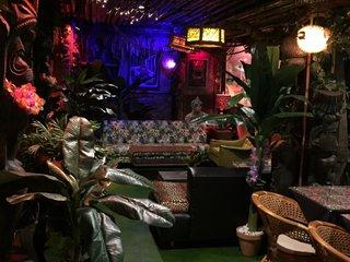 Imbibe in secluded paradise at KC's TikiCat bar