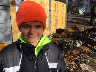 Gladstone boy saves family from house fire