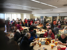 Hundreds show for Salvation Army Thanksgiving