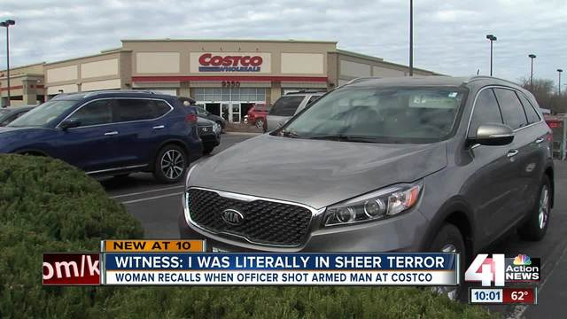 Off-duty officer shoots man who brandished gun at Costco