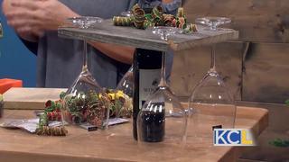 Easy to make, DIY wine holder