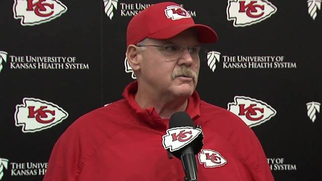 Image result for andy reid and marcus peters