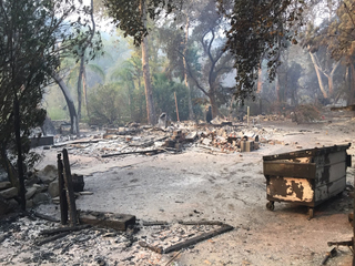 KC artist loses home in California wildfire