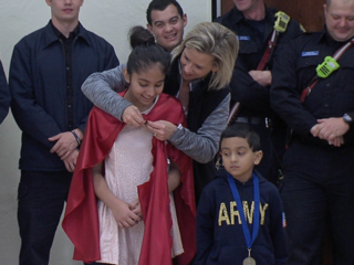 School staff, fire dept. save little boy's life