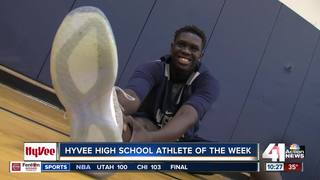 Senior may be tallest HyVee Athlete of the Week